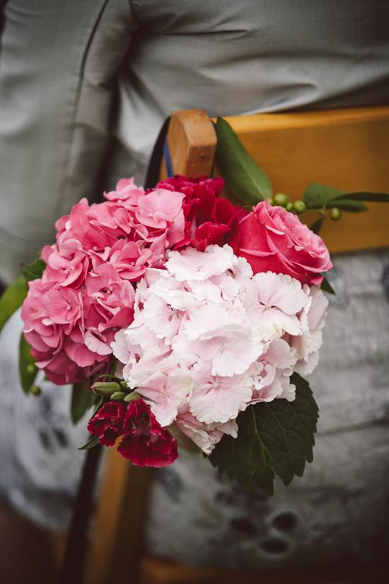 MORE FOR LESS: Large blooms like hydrangeas and garden roses provide maximum impact.