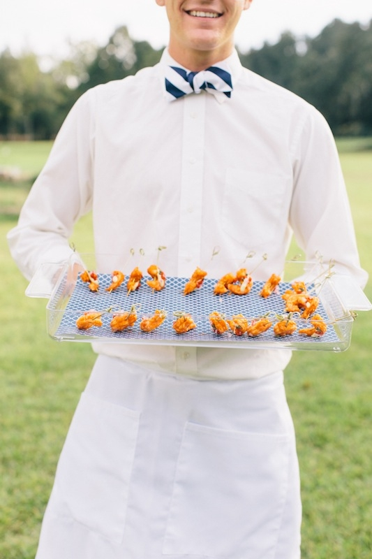 Catering by Tristan Events. Image by Corbin Gurkin at Runnymede Plantation.