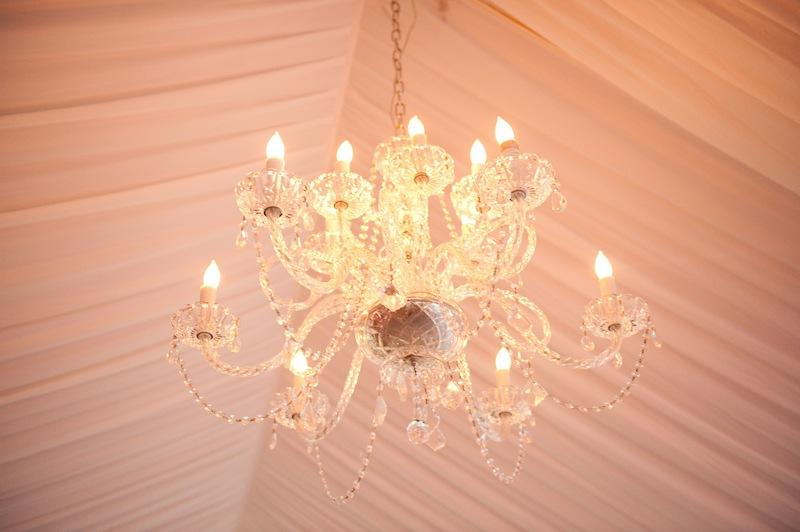 Lighting by Innovative Event Services. Image by Reese Moore Weddings.