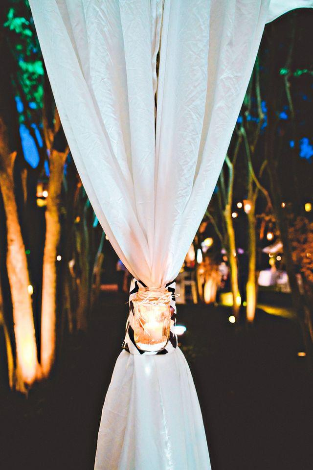 AN EYE FOR DETAIL: Thoughtful touches were one of the couple's chief requests for the evening, says Allison.