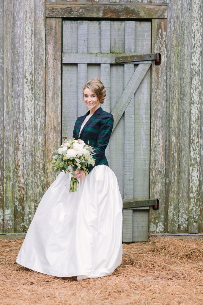 1. Bride Lauren Hawkins. Image at Boone Hall Plantation by Julia Wade Photography.