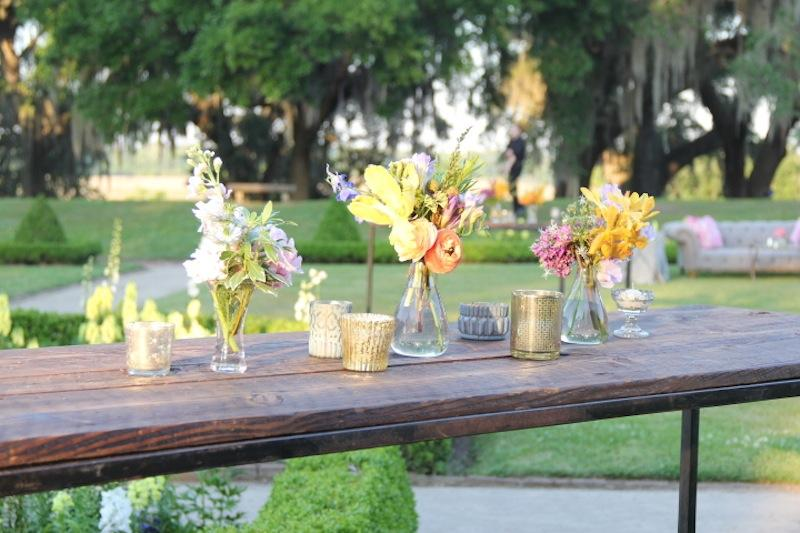 Florals by Out of the Garden. Rentals by Ooh! Events. Photograph by Cameron Bolus.