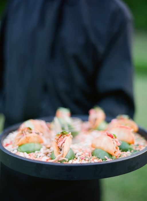 Catering by Cru Catering. Image by KT Merry Photography.