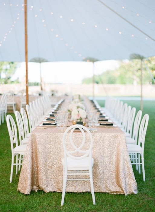 Chairs from EventHaus. Linens from La Tavola. Wedding design by Karson Butler Events. Image by KT Merry Photography at Middleton Place.