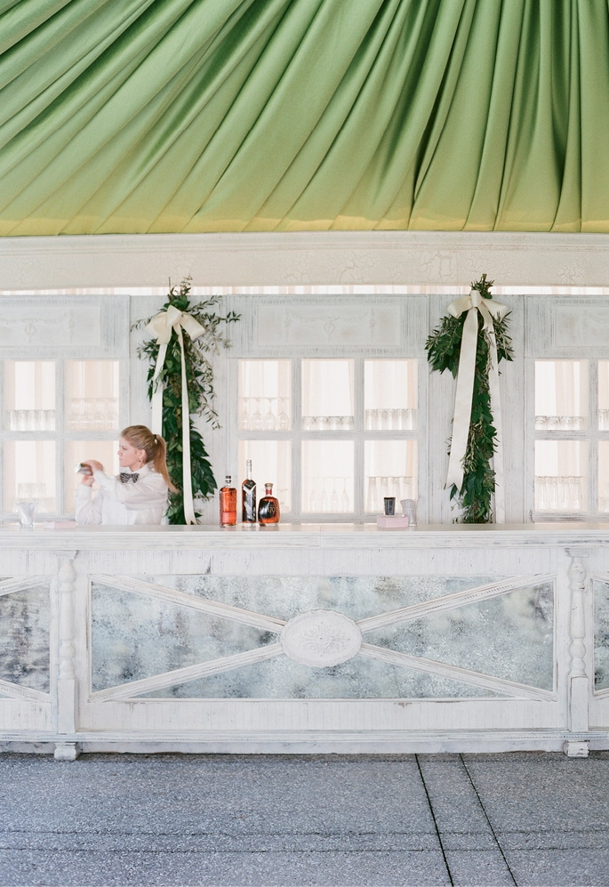 Photograph by Corbin Gurkin. Bar by Blossoms Events. Bar service by Patrick Properties Hospitality Group.
