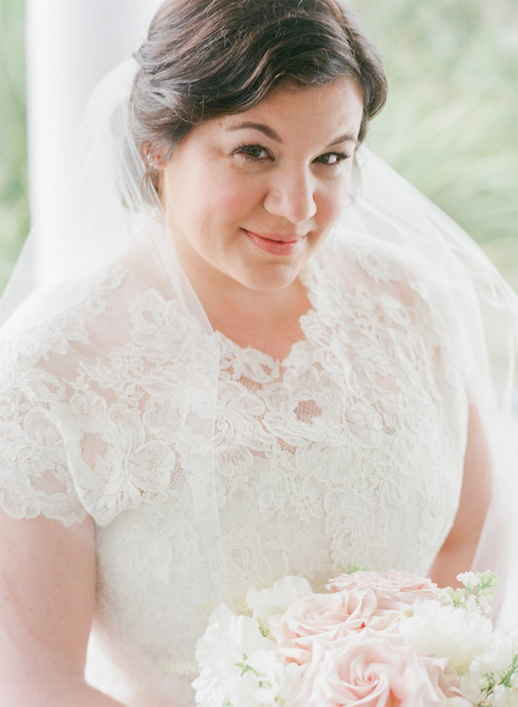 Photograph by Corbin Gurkin. Bride's attire by Oscar de la Renta. Beauty by Wedding Hair by Charlotte.
