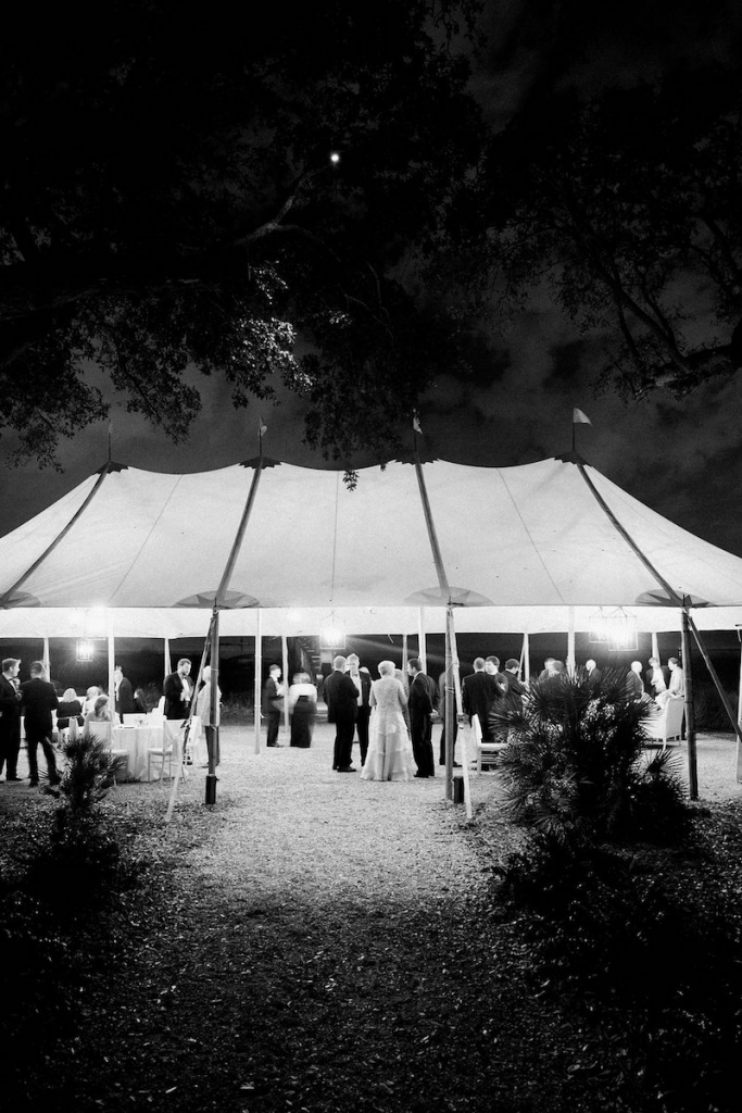 Photograph by Corbin Gurkin. Tent by Snyder Event Rentals. Lighting by Technical Event Company.