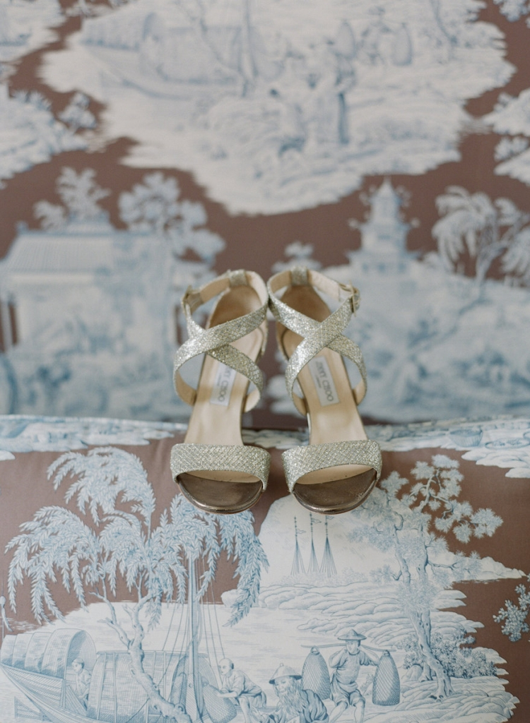 Shoes by Jimmy Choo. Photograph by Corbin Gurkin.