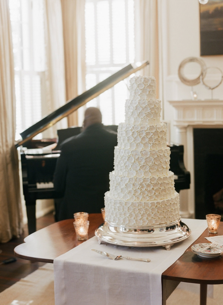 Cake by Wedding Cakes by Jim Smeal. Photograph by Corbin Gurkin.