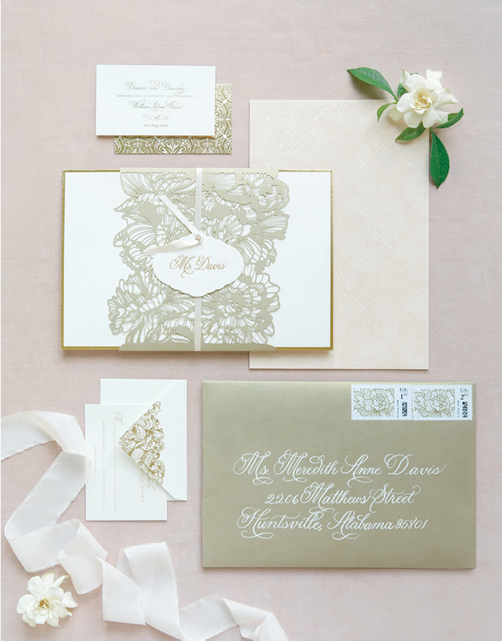 Photograph by Corbin Gurkin. Stationery by Lettered Olive.