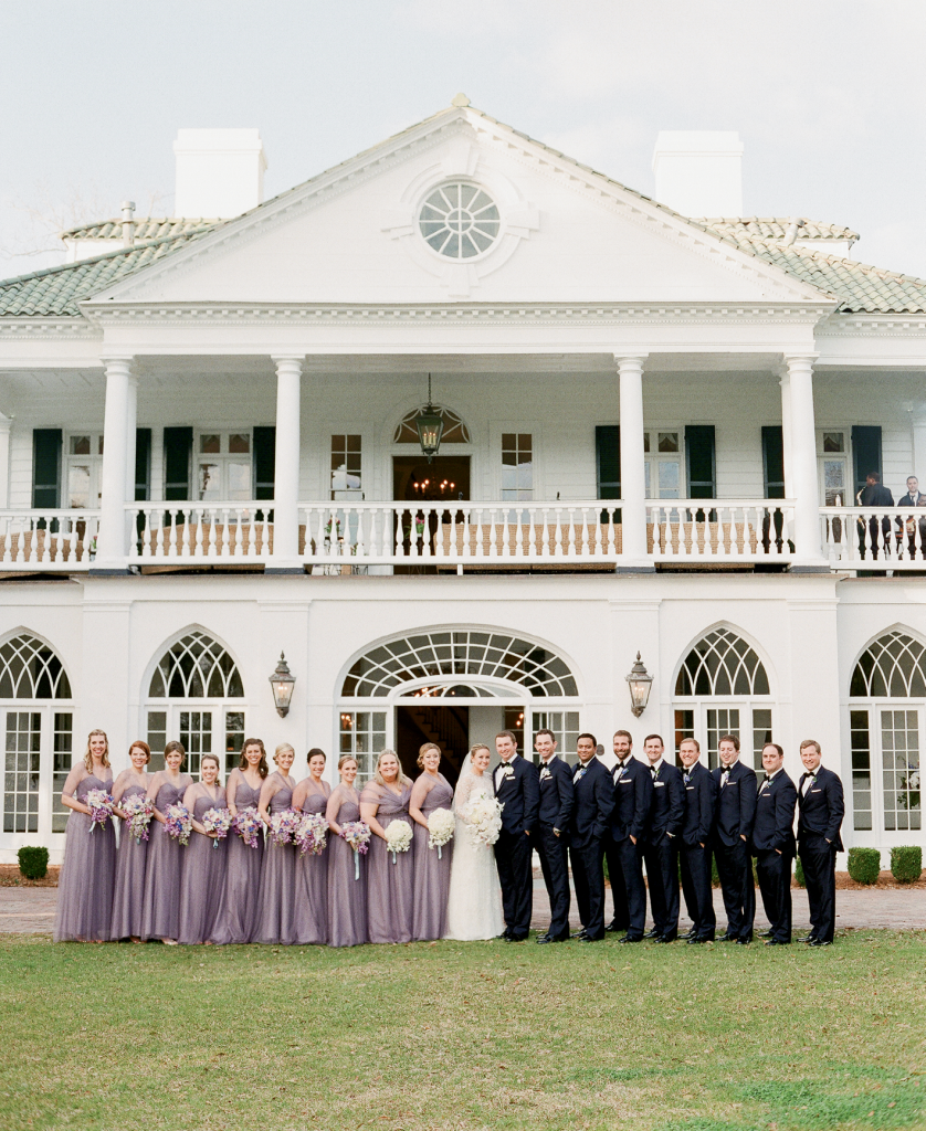 """Laura, her mother, and I spent an entire day last July visiting churches  and reception venues trying to figure out what would be the best fit,"" Tara recalls.  ""But when they saw Lowndes Grove, they were blown away."" (Photo by Corbin Gurkin)"