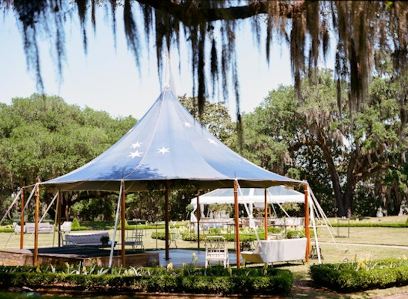 Tent by Sperry Tents Southeast. Photograph by Marni Rothschild Pictures.