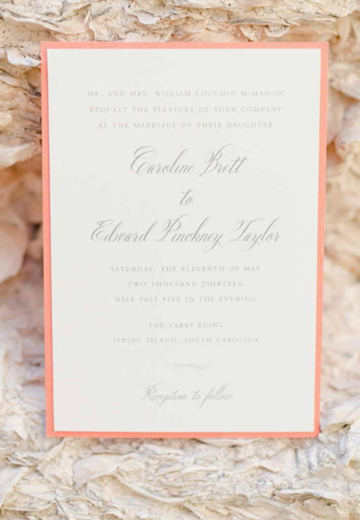 Stationery by Studio R. Image by Elisabeth Millay Photography.