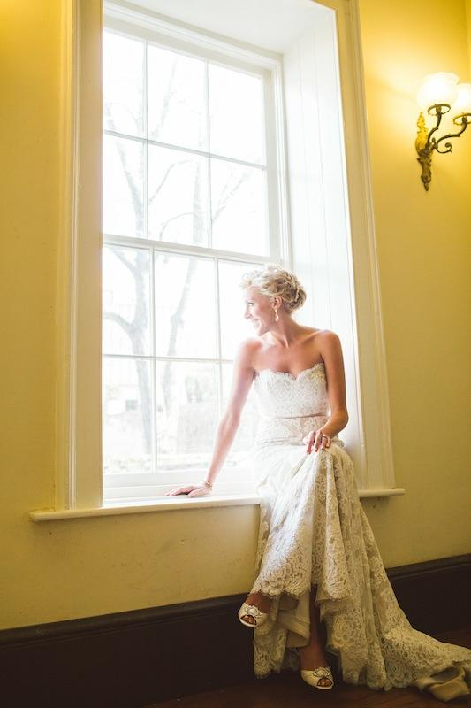 Bridal gown by Anne Barge from Fabulous Frocks. Hair and makeup by Ash & Co. Image by Juliet Elizabeth Photography.