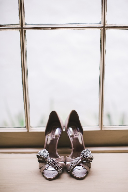 Shoes by Badgley Mischka. Photograph by Hyer Images.