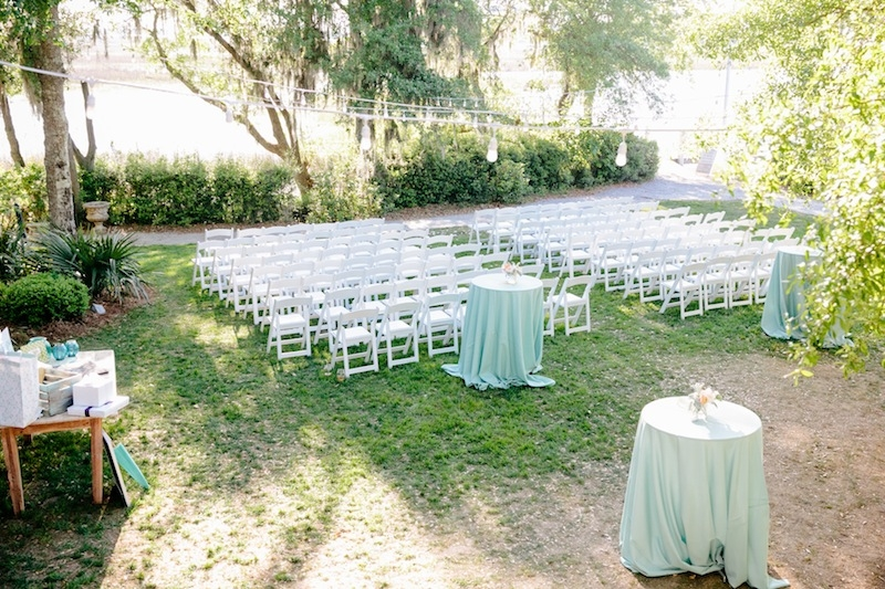 Wedding design by Southern Protocol. Image by Dana Cubbage Weddings at Creek Club at I'On.