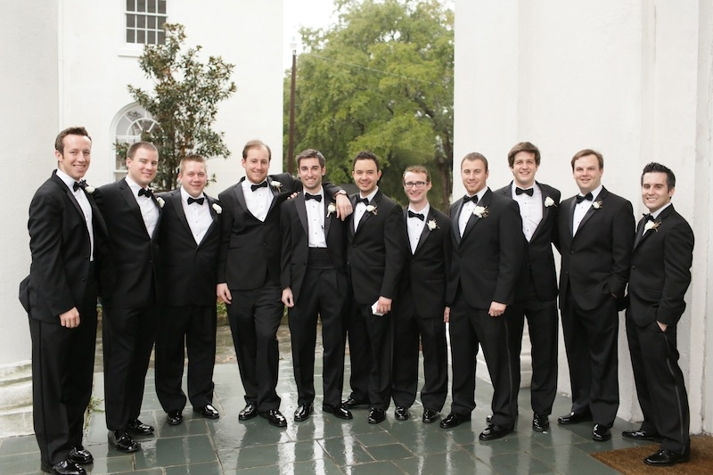 Groom's and groomsmen attire from Berlin's. Image by The Connellys.