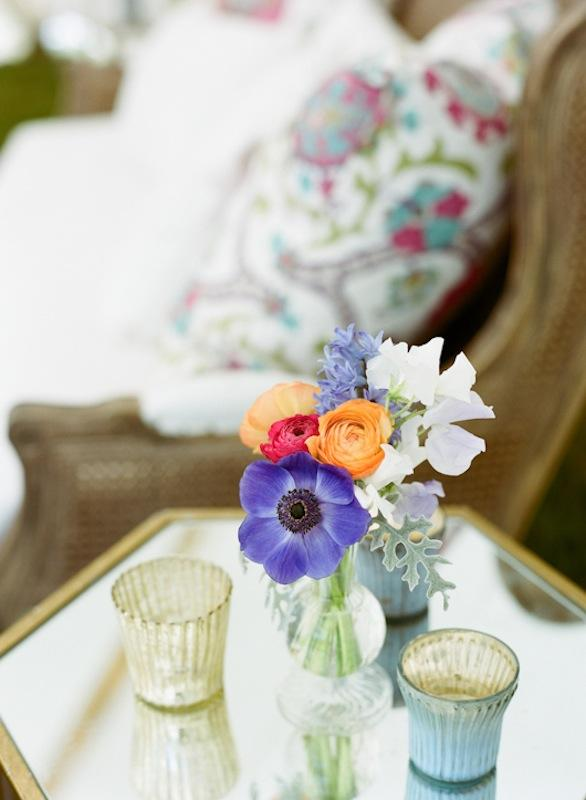 Florals, décor, design, and rentals from Ooh! Events and Tusk Events.  . Photograph by Marni Rothschild Pictures.