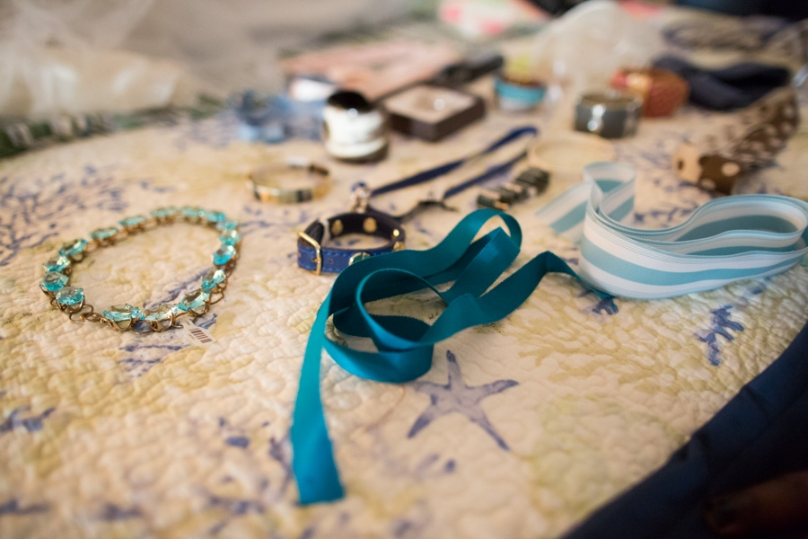 Jewels got the same treatment as the shoes, and you can bet we spent breaks ogling everything from ribbon from Out of Hand to jewels from all over town. Image by Juliet Elizabeth Photography