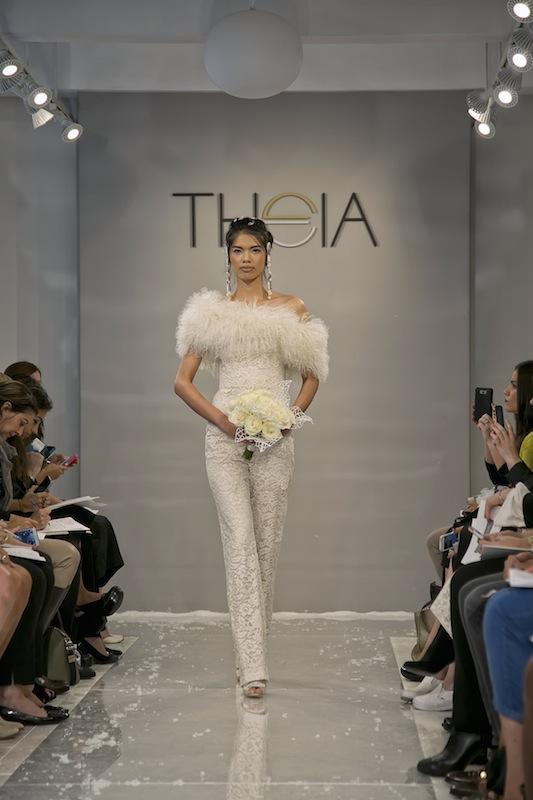 """THEIA White Collection's """"Naomi."""" Available in Charleston through Gown Boutique of Charleston."""
