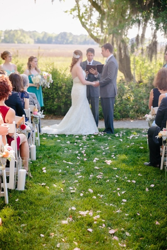 Image by Dana Cubbage Weddings at Creek Club at I'On.