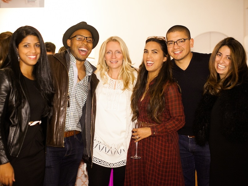 Revelers at the New York Bridal Market Kickoff Party