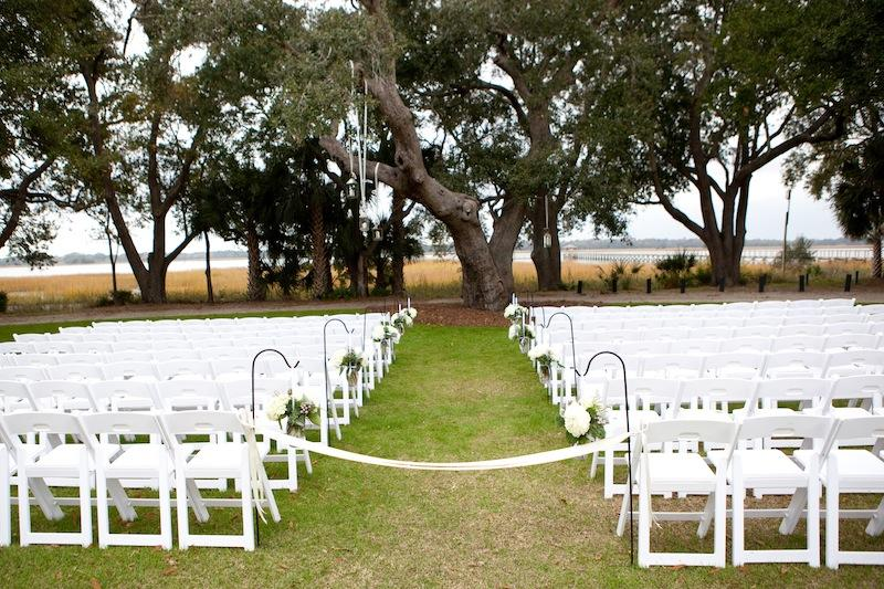 Wedding design and coordination by A. Caldwell Events. Image by Reese Moore Weddings at Lowndes Grove Plantation.