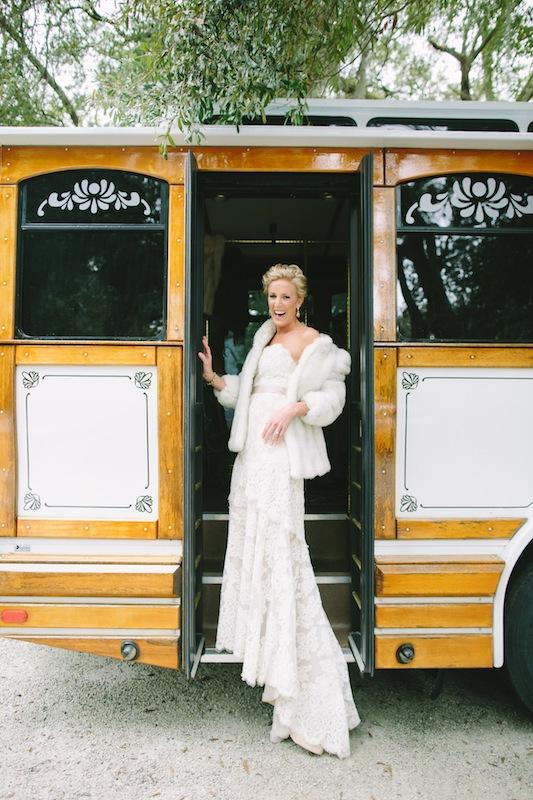 Bridal gown by Anne Barge from Fabulous Frocks. Hair and makeup by Ash & Co. Transportation by Absolutely Charleston. Image by Juliet Elizabeth Photography.