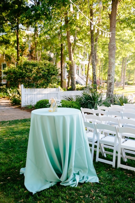 Rentals through EventWorks. Wedding design by Southern Protocol. Image by Dana Cubbage Weddings at Creek Club at I'On.