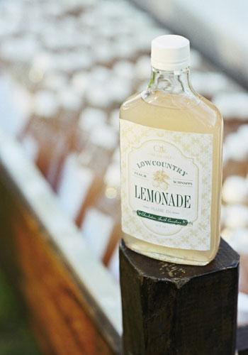 """Southernsip: """"Our signature recipe for Lowcountry Lemonade is a combination of fresh lemonade and peach schnapps,"""" says Tara. """"Pour it over a glass full of crushed ice, garnish with mint, and enjoy!"""""""