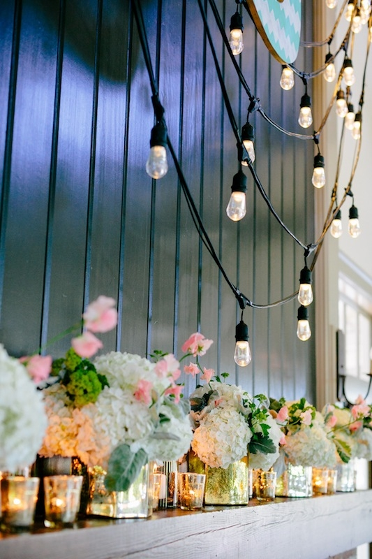 Lighting by Innovative Event Services. Florals by Branch Design Studio. Image by Dana Cubbage Weddings.