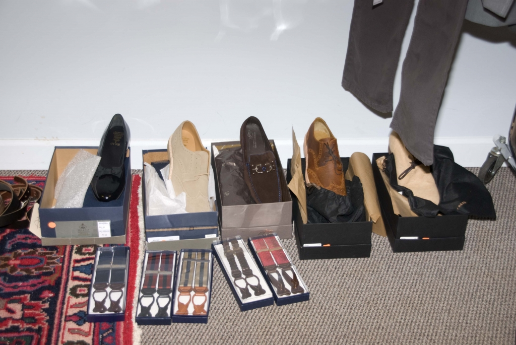 Style Director Ayoka Lucas sourced shoes from M. Dumas & Sons, Gwynn's of Mt. Pleasant, Grady Ervin, and more.