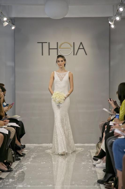 """THEIA White Collection's """"Daphne."""" Available in Charleston through Gown Boutique of Charleston."""