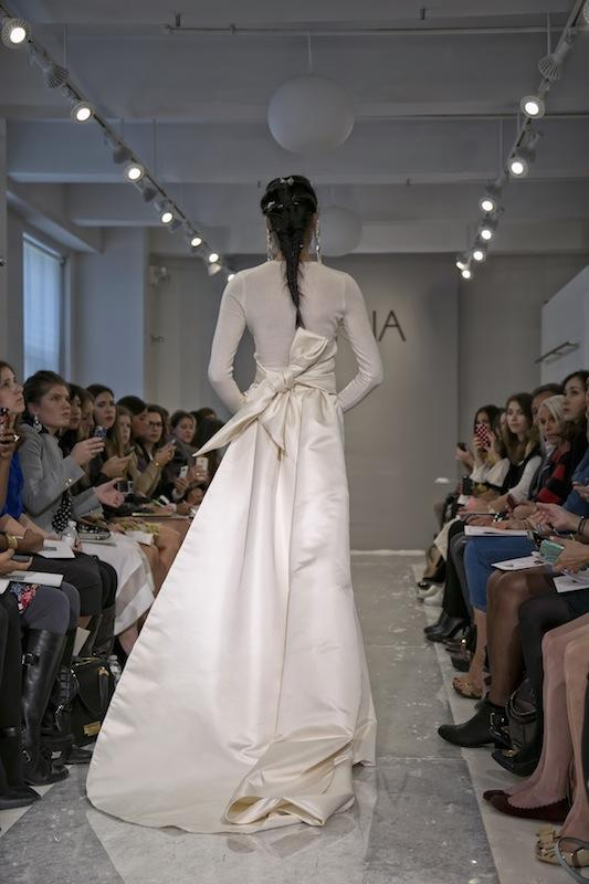 """THEIA White Collection's """"Kushi."""" Available in Charleston through Gown Boutique of Charleston."""