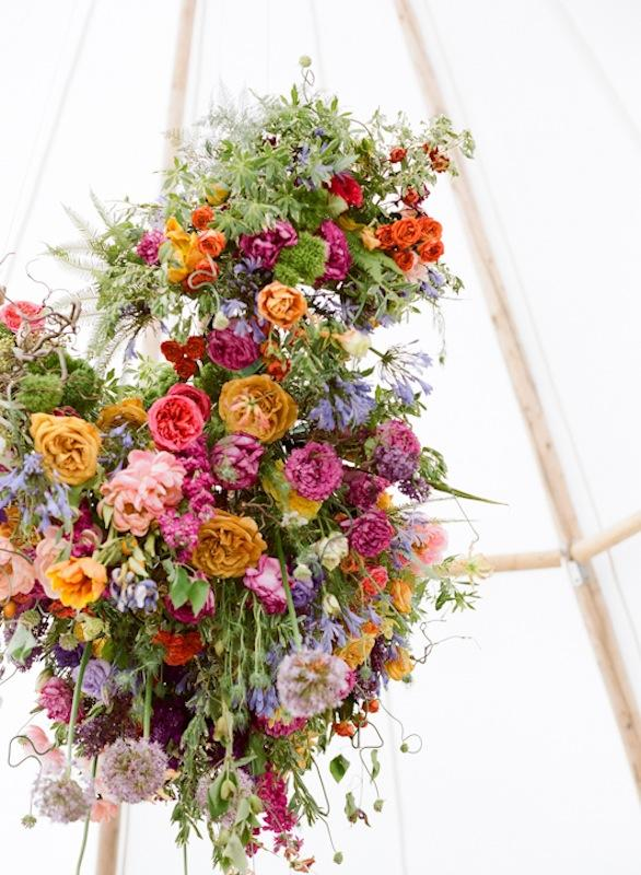 Florals from Ooh! Events. Photograph by Marni Rothschild Pictures.
