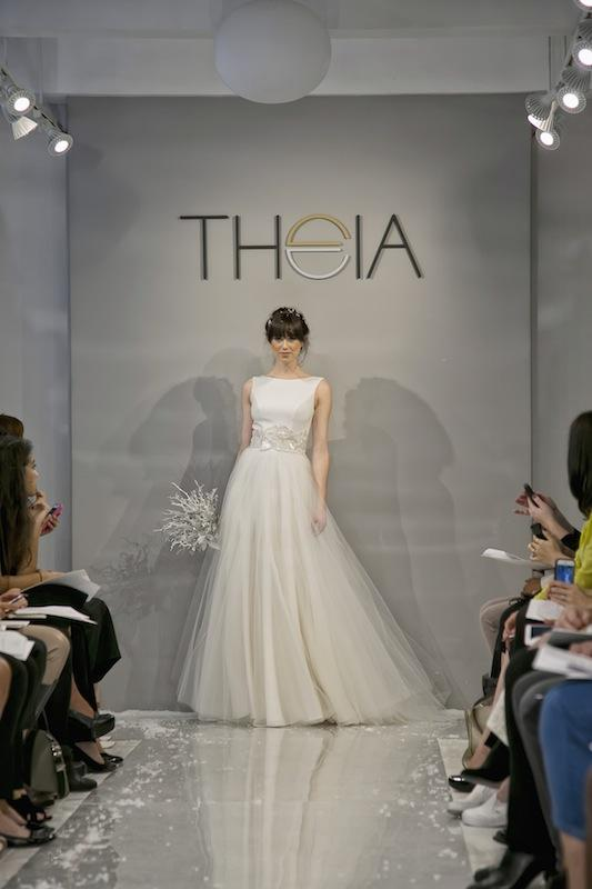 """THEIA White Collection's """"Victoria."""" Available in Charleston through Gown Boutique of Charleston."""