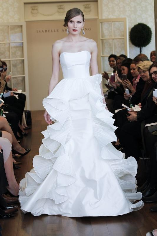 "Isabelle Armstrong's ""Abigail."" Available in Charleston through Gown Boutique of Charleston."
