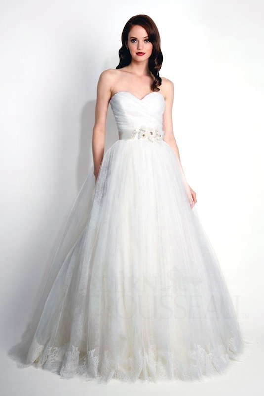 "Modern Trousseau's ""Ada."" Available in Charleston through Modern Trousseau."