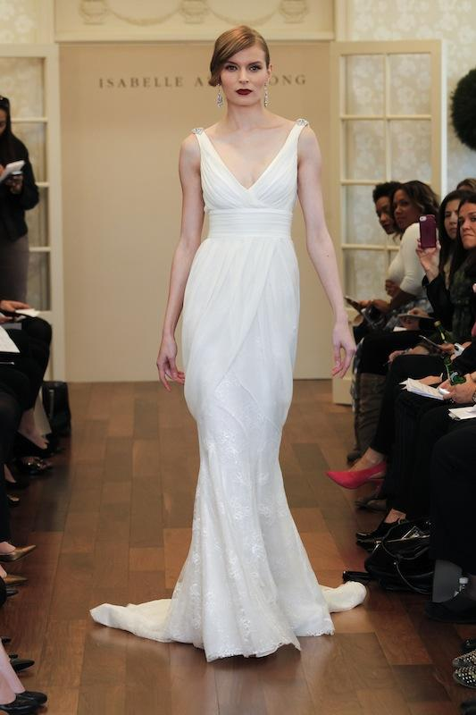 "Isabelle Armstrong's ""Adele."" Available in Charleston through Gown Boutique of Charleston."