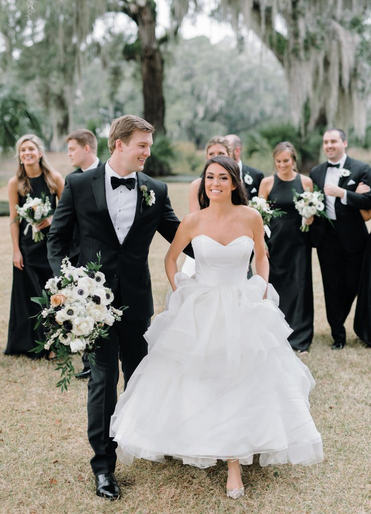 Recognize this setting? Alexa and William beat the Biebers (that's Justin Bieber and Hailey Baldwin), who wed at Montage Palmetto Bluff nine months later.