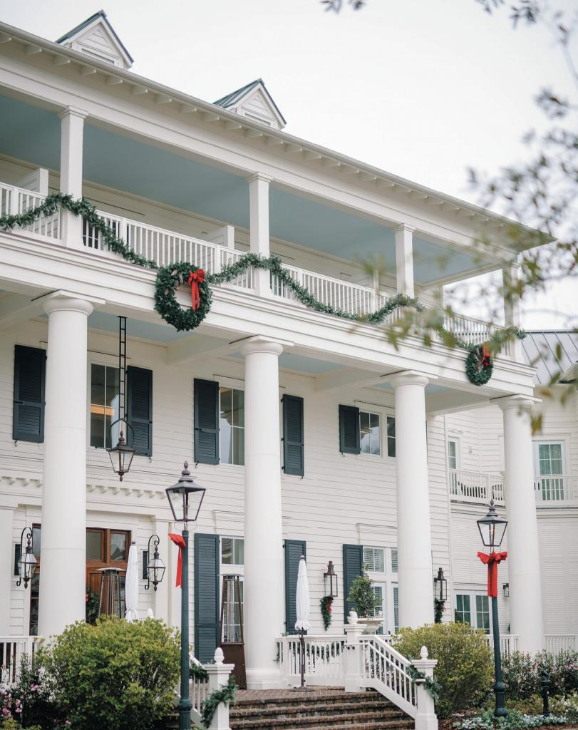 "The Inn at Montage Palmetto Bluff was just one lodging option for the majority of the guests who stayed on the resort grounds. As for the big turnout, ""It doesn't hurt that people usually hate making New Year's Eve plans and totally supported our idea!"" says Alexa."