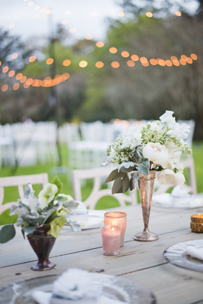 Wedding design by Ooh! Events. Florals by Out of the Garden. Image by Clay Austin Photography at Magnolia Plantation & Gardens.