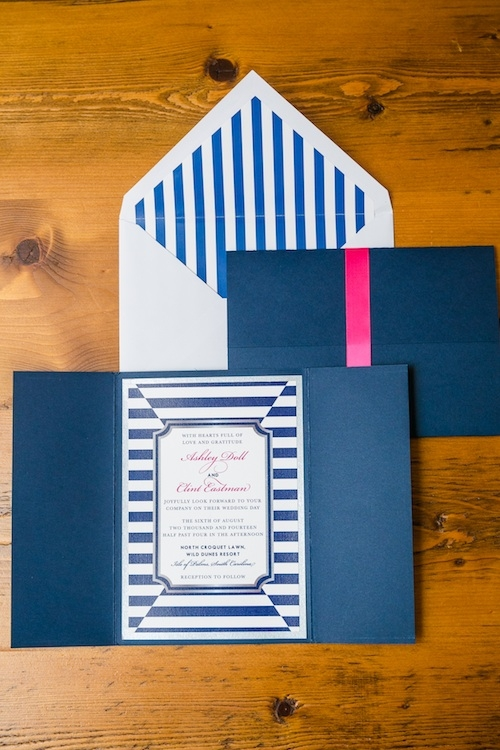Stationery by Lynn Teresa Designs. Image by Dana Cubbage Weddings.