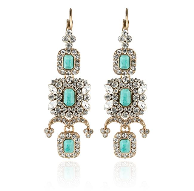 "Samantha Wills' ""Beautifully Dressed Up"" drop earrings. Available through SamanthaWills.com."