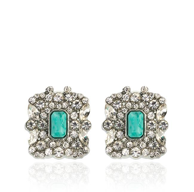 "Samantha Wills' ""Beautifully Dressed Up"" stud earrings. Available through SamanthaWills.com."
