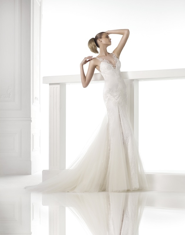 "Pronovias' ""Calime."" Available in Charleston through Gown Boutique of Charleston."