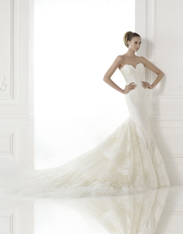 "Pronovias' ""Callido."" Available in Charleston through Gown Boutique of Charleston."
