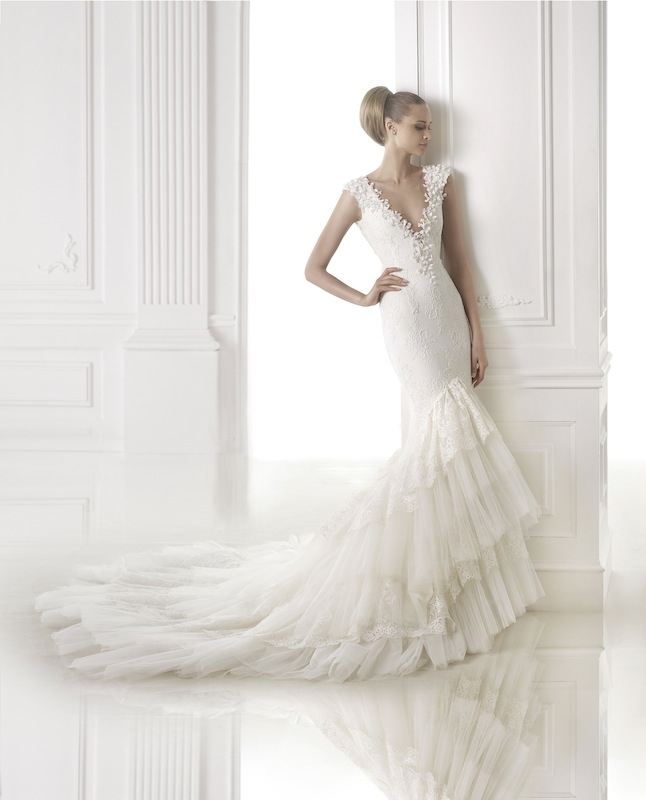 "Pronovias' ""Cameron."" Available in Charleston through Gown Boutique of Charleston."