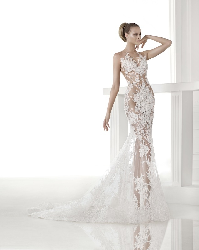 "Pronovias' ""Caraola."" Available in Charleston through Gown Boutique of Charleston."