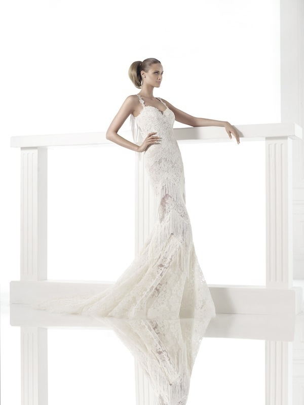 "Pronovias' ""Careli."" Available in Charleston through Gown Boutique of Charleston."